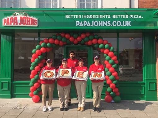 Papa Johns Great Yarmouth opening