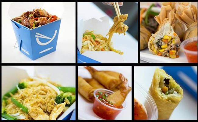 Wok&Go food offerings