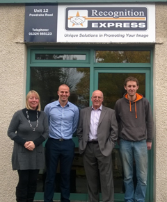 New Owners at Recognition Express
