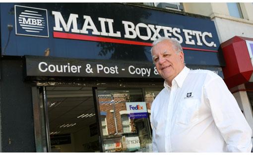 Mail Boxes Etc. franchisee celebrates success