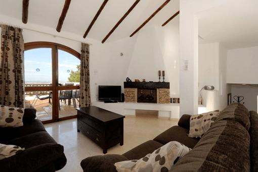 Los Altos villa interior