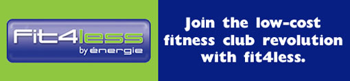 Fit4Less Fitness logo