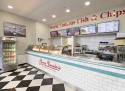 Harry Ramsden's fish & chip shop