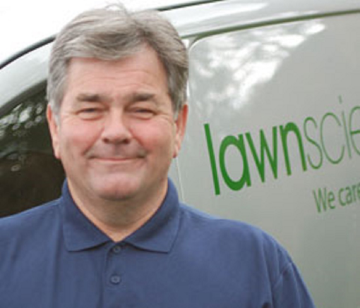 Terry Nicholson, Lawnscience owner
