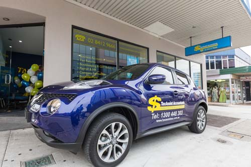 TaxAssist Accountants in Sydney car