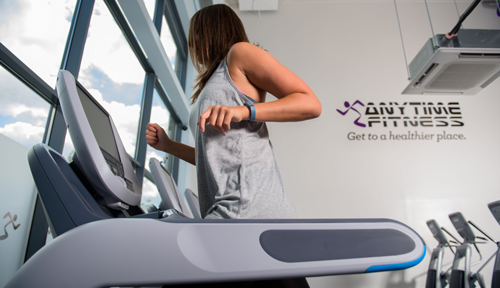 Anytime Fitness Treadmill