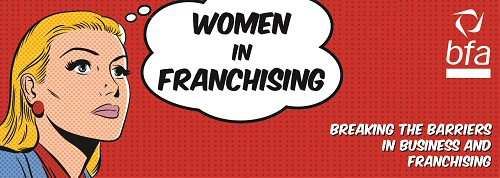 bfa Women in Franchising logo