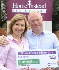 Home Instead Senior Care - Jill and Paul Tame