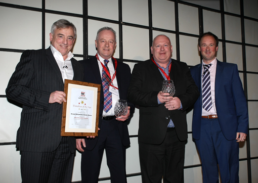 Driver Hire franchisees of the year